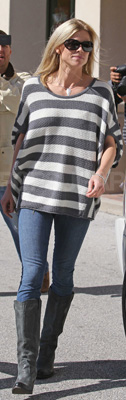 Elin Nordegren Wears Free People Striped Sweater