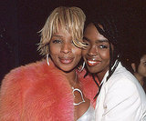 Lauryn Hill joined Mary J. Blige at the 2000 Grammys.