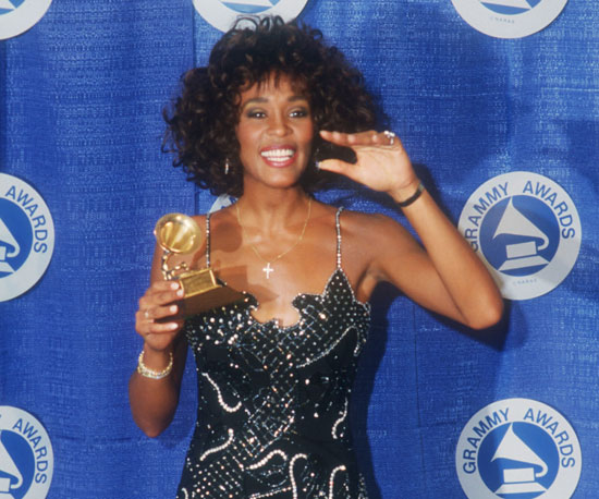 Whitney Houston took home a Grammy for the Best Female Pop Vocal Performance in 1987.