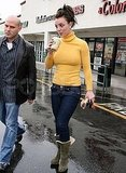 Photos of Britney in the Rain