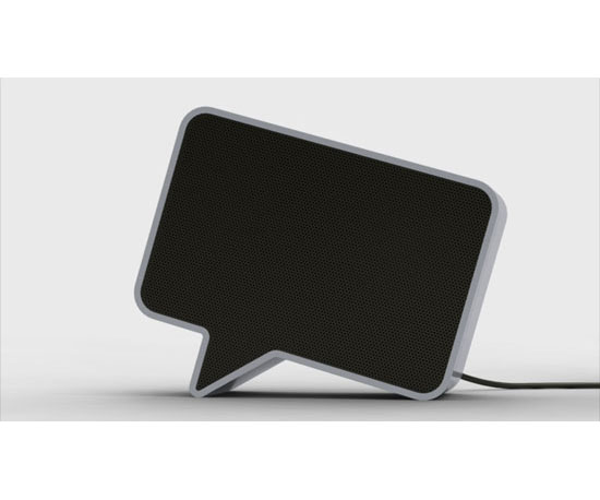 Desktop Speech Bubble Speakers ($120)