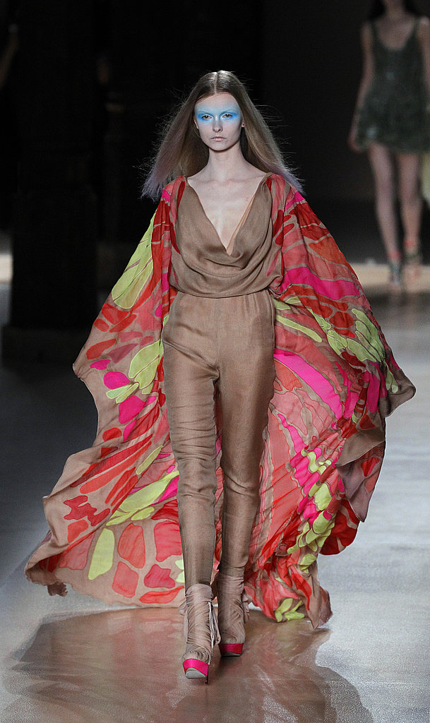 Valentino Spring 2010 Couture Goes Youthful, Earns Balenciaga Comparisons