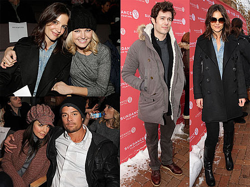 Photos of Katie Holmes, Adam Brody and Josh Duhamel at the Sundance Screening of The Romantics