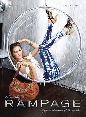 Model Bar Refaeli in Rampage Spring Ad Campaign