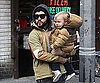 Slide Photo of Pete Wentz With Bronx in NYC
