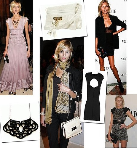Anja Rubik's Model Off Duty Style