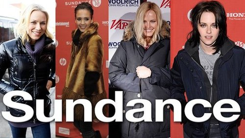 Kristen Stewart Sundance, parkas, Jessica Alba, winter outerwear, Naomi Watts and Kerry Washington at Sundance, Park City 2010-01-28 16:23:30