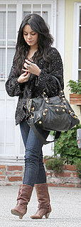 Vanessa Hudgen Carries Balenciaga Bag