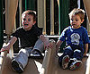 Slide Photo of Sean Preston and Jayden James at Park in LA