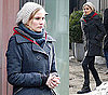 Photos of Diane Kruger On Set of Unknown White Male in Berlin