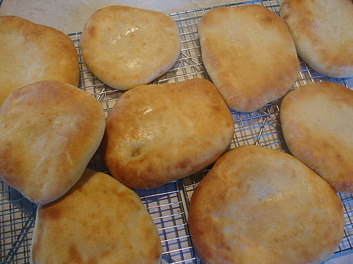 girlA's Homemade Pita Bread
