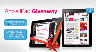 Win an Apple iPad on Twitter From GeekSugar