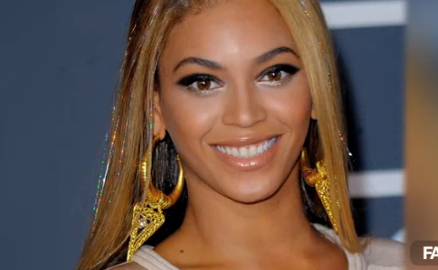 Beyonce at 2010 Grammy Awards