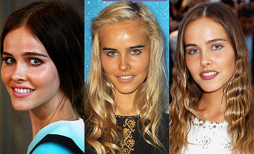 Which Colour Hair Looks Best on Isabel Lucas?