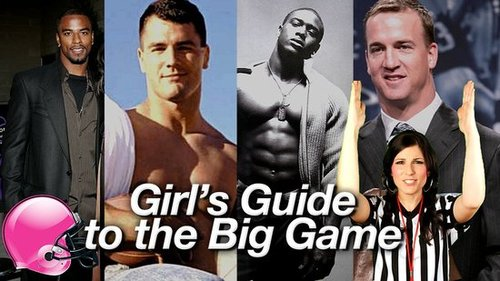 2010 Super Bowl, Hot Football Players, and Football Referee Signals 2010-02-03 11:00:00