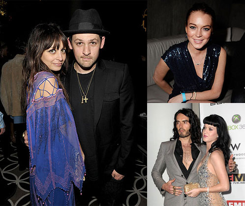 Photos From 2010 Grammy Awards Afterparties With Nicole Richie, Joel Madden, Lindsay Lohan, Katy Perry, and Russell Brand 2010-02-01 14:30:22
