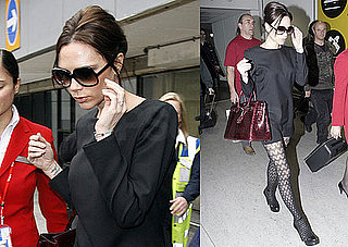 Photos of Victoria Beckham Arriving at Heathrow Airport in London