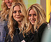 Slide Photo of Ashley and Mary Kate Olsen on Good Morning America
