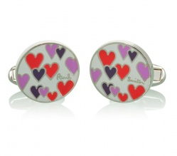 Paul Smith Hearts Cufflinks ($75)