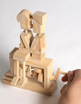 Kissing Couple Timber Kit ($28)