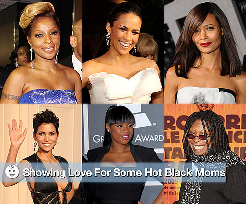 Hot Black Celebrity Moms to Honor Black History Month