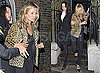 Photos of Kate Moss Looking a Little Tired Leaving a Friend's House