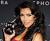 Slide Photos of Kim Kardashian Promoting Her New Fragrance at Sephora