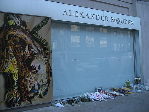 In memory of Alexander McQueen
