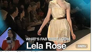 Lela Rose 2010 Fall Collection