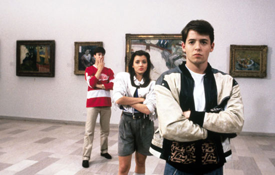 "Most quoted: ""Life moves pretty fast. If you don't stop and look around once in a while, you could miss it."" — Ferris ""Bueller? Bueller?"" — Economics teacher ""Ferris Bueller, you're my hero."" — Cameron"