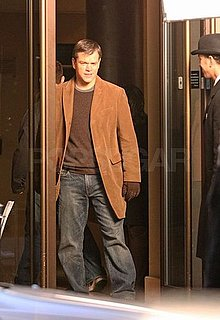 Photos of Matt Damon And Clint Eastwood Filming Hereafter in London