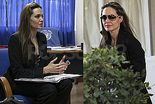 Photos of Angelina Jolie in the Dominican Republic to Talk About Haitian Relief