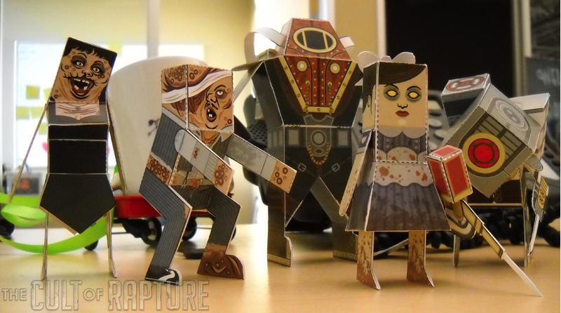 BioShock 2 Papercrafts