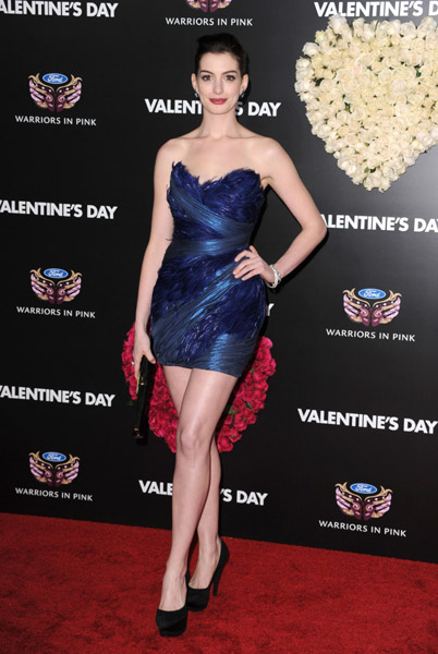 Stars Look Just Lovely at Valentine's Day Premiere