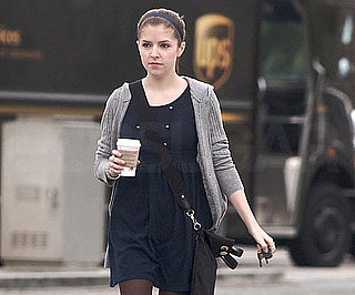 Slide Photo of Anna Kendrick Running Errands in LA