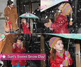 Suri's Sweet Snow Day!