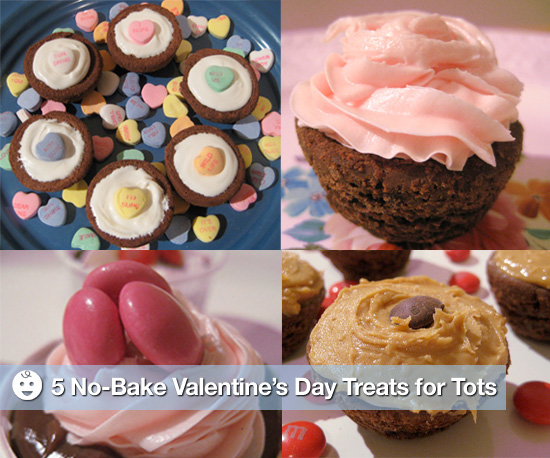 5 No-Bake Valentines Day Treats For Tots