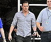 Slide Photo of Channing Tatum Leaving E Studios