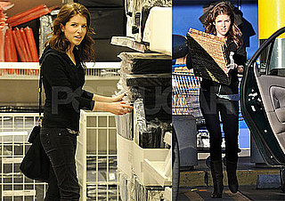 Photos of Twilight's Anna Kendrick, Who's Nominated For an Oscar For Up in The Air, Shopping at Ikea in LA