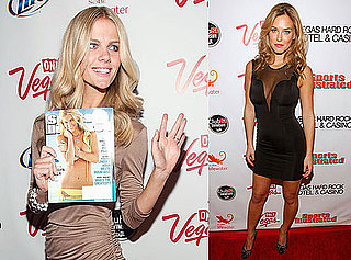Photos of Bar Refaeli and Brooklyn Decker Celebrating the Sports Illustrated Swimsuit Cover in Las Vegas 2010-02-13 09:00:31