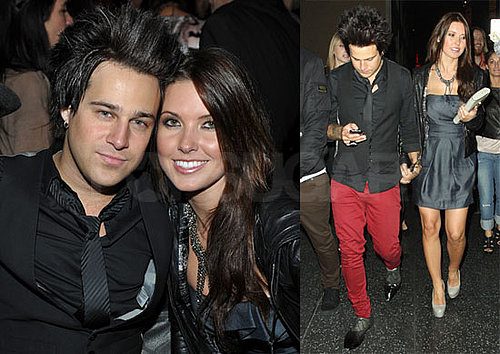 Photos of Audrina Patridge and Ryan Cabrera Holding Hands Attending a Party