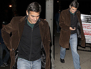 Photos of George Clooney Walking in LA