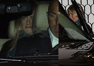 Photos of Jennifer Aniston Leaving Her 41st Birthday Party