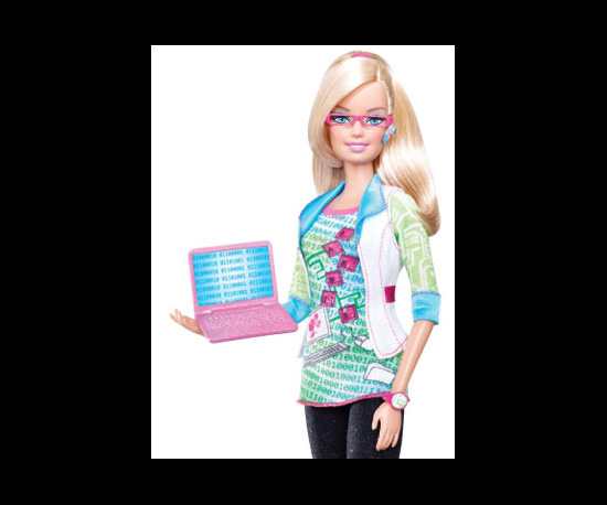 Barbie Is a Computer Engineer