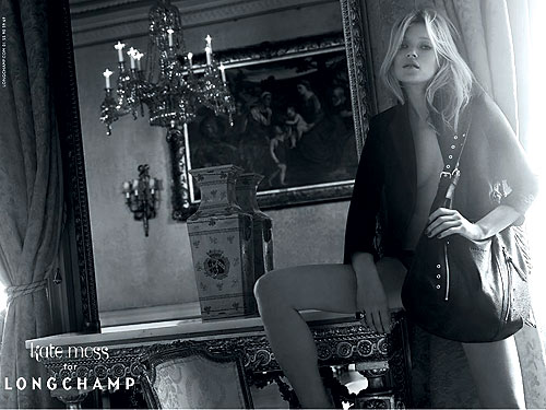 Kate Moss for Longchamp, Spring &#039;10