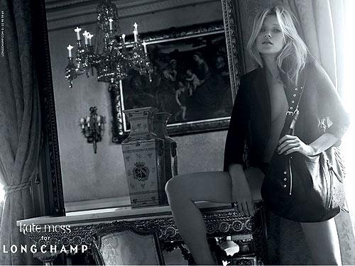 Kate Moss for Longchamp, Spring '10