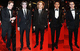 Photos of All the Men on BAFTAs 2010 Red Carpet Prince William, Robert Pattinson, Jamie Campbell Bower, Jonathan Rhys Meyers 2010-02-21 16:00:55