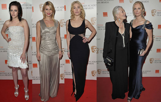 Photos of Women on BAFTA 2010 Red Carpet