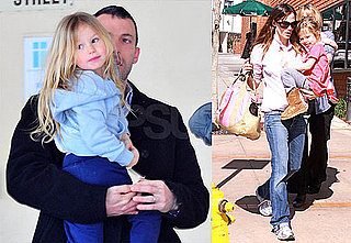 Photos of Jennifer Garner, Ben, Violet and Seraphina Affleck Out in LA