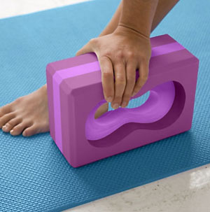 Gaiam All-Grip Yoga Brick
